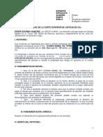 Demanda Cumplimiento de Obligacion Contractual