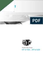 Zubova Cerpadla KF 3-100...KF 6-630
