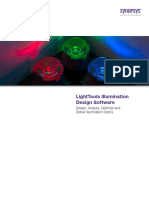 LightTools Illumination Design Software. Design, Analyze, Optimize and Deliver Illumination Optics