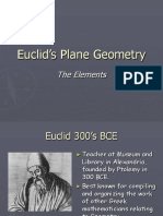 Euclid's Plane Geometry.ppt