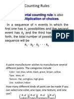 Counting Rules SemB