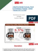 Drip Coffee Machine Market