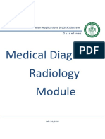 e LORA Diagnostic Radiology Guidelines