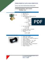 Tool Instrumentation Turbine Area