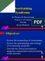 2 Lezione Overtraining Syndrome SM