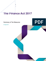 Grant Thornton Mauritius Tax Alert the Finance Act 2017