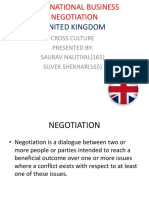 INTERNATIONAL BUSINESS NEGOTIATION