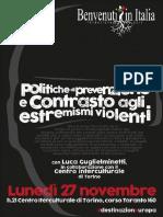 Politiche di prevenzione e contrasto ai radicalismi violenti