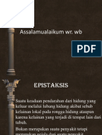 PPT Epistaksis New