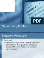 Lesson 5 - Networking Models