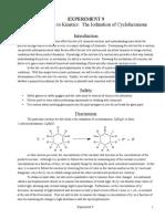 Iodination of Hexanone