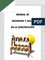 Manual de Seguridad y Salud en Construcción