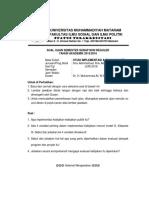 Jawaban Soal Implementasi Kebijakan Publik DR.ali