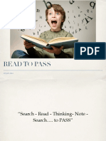 Reading List 1