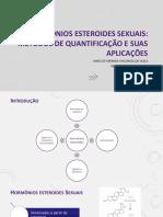 Hormônios Esteroides Sexuais