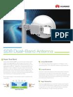 SDB Dual-Band Antenna