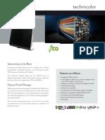 Datasheet Technicolor TG589vn
