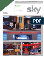 Sky Sport News Studio