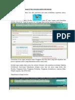 User Manual Untuk Pemohon Persetujuan ETIK FK-UNPAD.doc