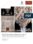 AEJM Conference 2017