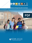 American College Health Association-National College Health Assessment II Reference Group Executive Summary Spring 2014