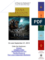 The Making of the Exile by Diana Gabaldon