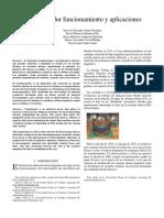 Transformador Funcionamiento y Aplicaciones