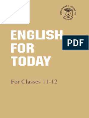 Hsc Nctb Book English   Reading Comprehension   English Language