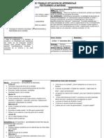Plan de Trabajo Nov-diciembre 2015