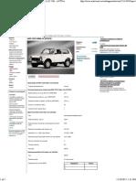 Технические Характеристики ВАЗ 2121 Нива 1.6 (21210) - AUTOweek