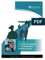 Guide to Religion and Belief in the ADF (1)