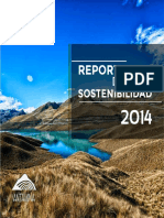Reporte Sostenibilidad 2014