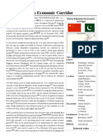 China–Pakistan Economic Corridor