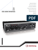 Manual español UR242 USB Audio Interface