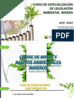 CIERRE DE MINAS Y PASIVOS AMBIENTAL