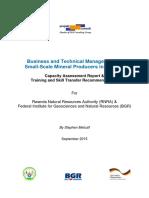 Rwanda ASM Capacity Assessment