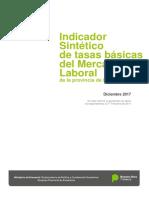 Indicador Sintético de tasas básicas del Mercado Laboral