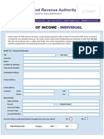 Individual - Tax Return