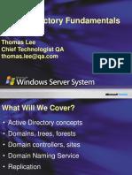 3rdNovember-Active_Directory_Fundamentals_Administration.ppt