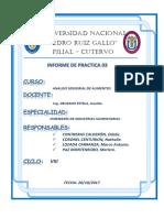 Informe 03 de Evaluacion Sensorial