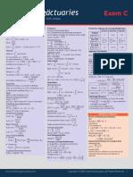 c4 Formula Sheet