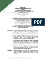 Kepmenrumah 05-Kpts-bkp4n-1995 Ttg Daftar Usaha Permukiman