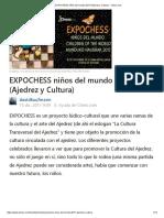 EXPOCHESS Niños Del Mundo 2017 (Ajedrez y Cultura) - Chess