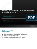 Setting Up Multi-source Replication in MariaDB 10