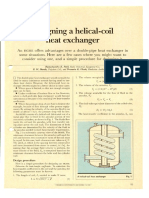 Designing Helical Coil Heat Exgr 1982
