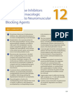 12 Cholinesterase Inhibitors & Other Pharmacologic Antagonists to Neuromuscular Blocking Agents