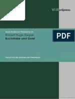 Robert Hugo Ziegler Buchstabe und Geist