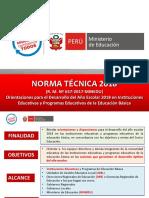Norma Técnica 2018