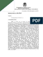 Resolucion 14 Sesion Extraoridinaria