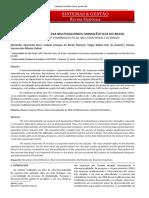 Atividades de p&d Das Multinacionais Farmacêuticas No Brasil